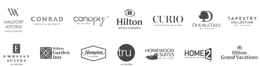 All Hilton Brands Kipsu Partners with