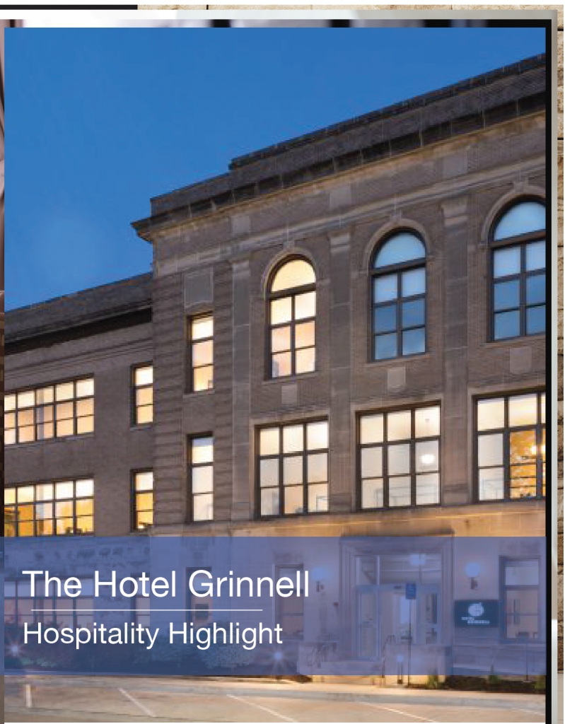 The Hotel Grinnell Hospitality Highlight
