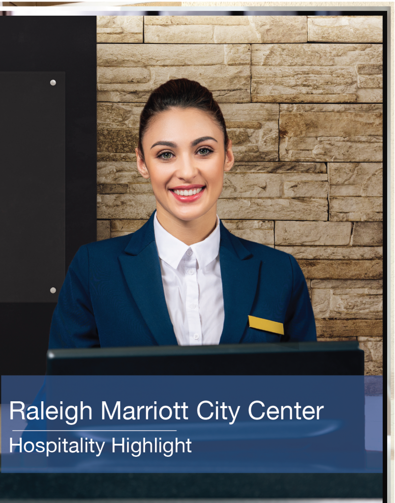 Raleigh Marriott City Center Hospitality Highlight