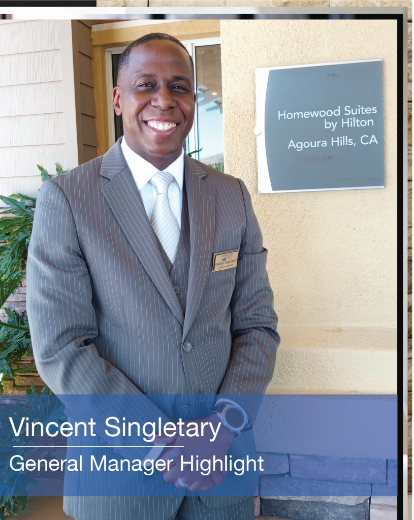 Vincent Singletary General Manager Highlight