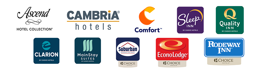 Choice hotel brands